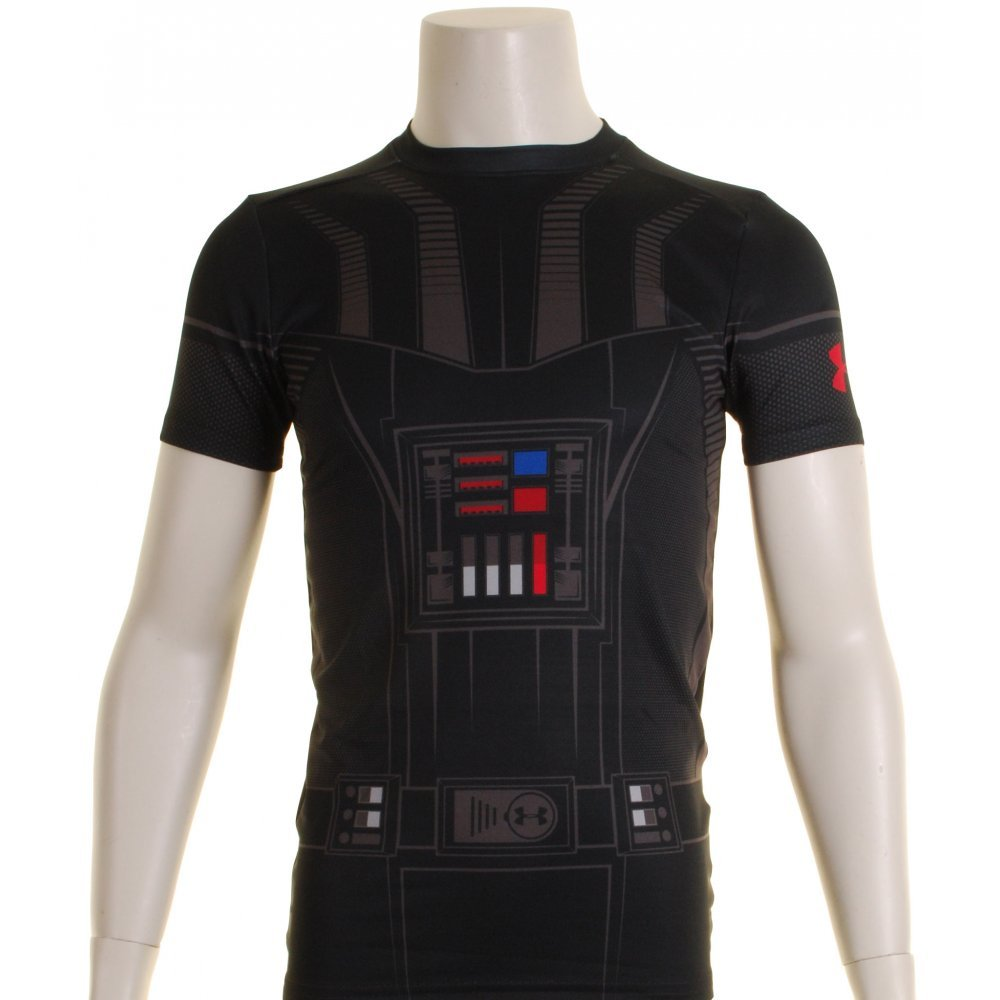 Under Armour Star Wars Compression Kids Base Layer Top X Small Vader