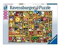 Ravensburger 19298 - Colin Thompson: Kurioses Küchenregal - 1000 Teile Puzzle