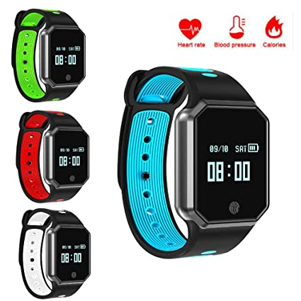 Amazon.com: hangang Fitness Tracker, Smartwatch Bluetooth ...