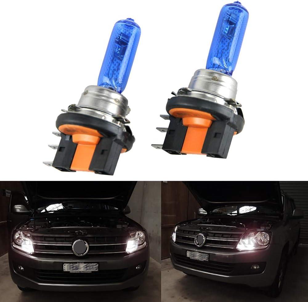 55w Ultra Bright Tint Xenon HID Upgrade 2x H7 Front High Main Beam Bulbs