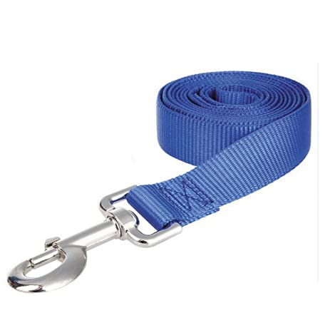 Exceptionnel 2.5FT/4FT/5FT Long 1 Inch Wide Thick Lead Nylon Dog Leash For