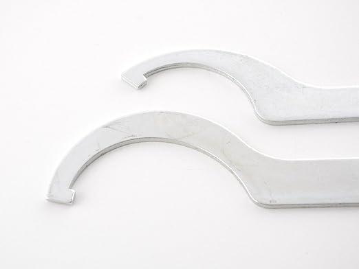 Fk Automotive Hakenschlüssel Set Zur Verstellung Von Ak Street Gewindefahrwerke Auto