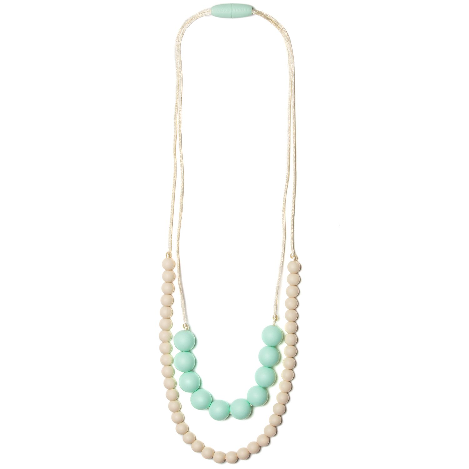 Mama & Little - Deila Silicone Teething Necklace - Bubblegum DEI02