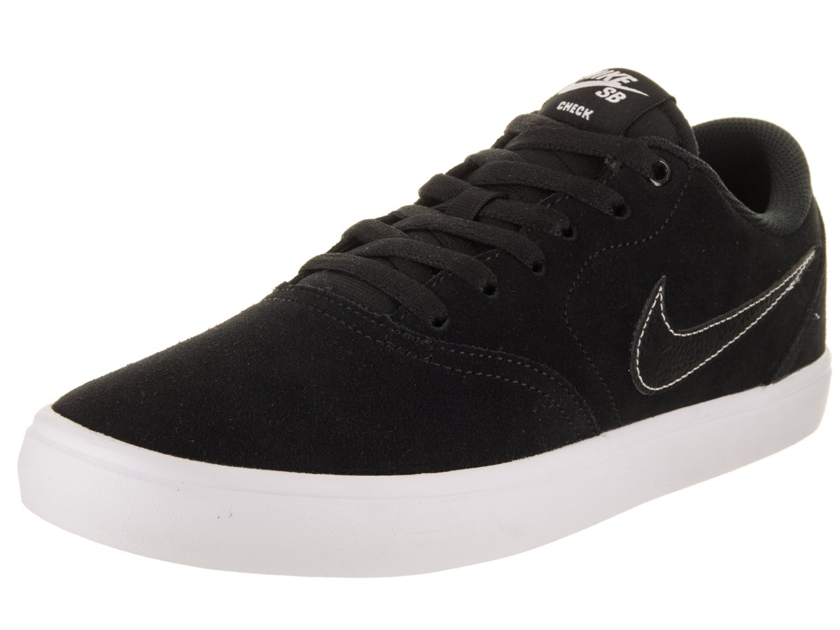 Nike Unisex SB Check Solar Black/Black White Skate Shoe 8.5 Men US / 10 Women US