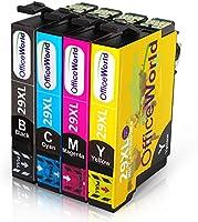 OfficeWorld Remplacer pour Epson 29 29XL Cartouches d'encre Grande Capacité with Epson Expression Home XP-245 XP-445 XP-345 XP-235 XP-435 XP-335 XP-247 XP-442 XP-342 XP-332 XP-432 (1 Noir, 1 Cyan, 1 Magenta, 1 Jaune)
