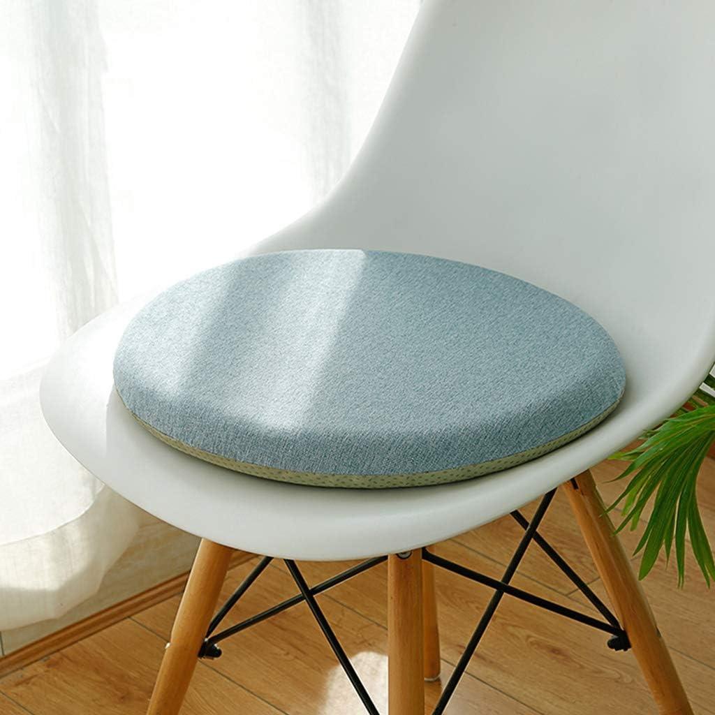 Ronde mousse /à m/émoire Coussin beaucoup de couleurs /à choisir Color : A, Size : 32CM /épais antid/érapante Chaise souple ronde coussin dassise lombaire Oreiller Coussin de sol