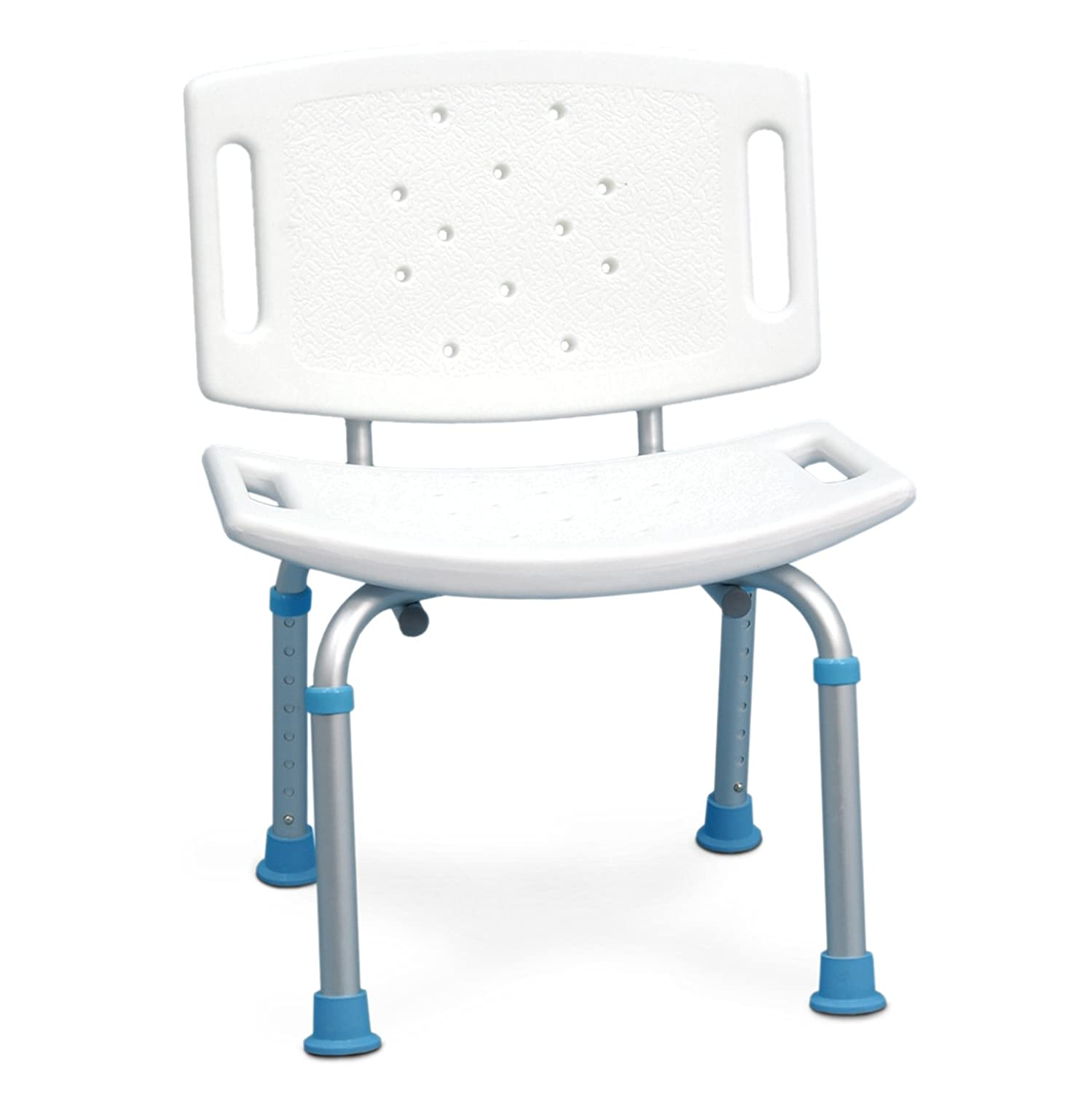 Amazon.com: AquaSense Adjustable Bath and Shower Seat with Non-Slip ...