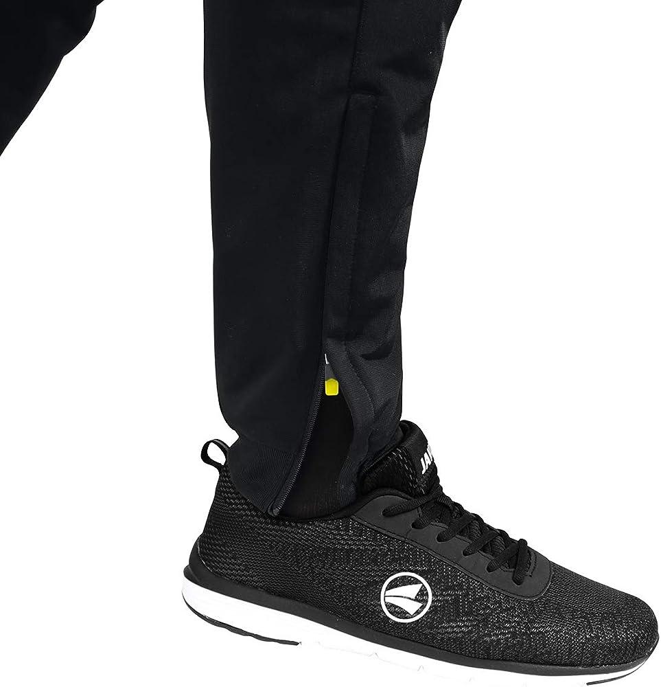 tama/ño 164 Infantil Pantalones de poli/éster para ni/ños JAKO Competition 2.0 Color Negro//Amarillo ne/ón