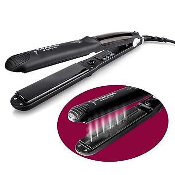 OSIR Professional Titanium Steam Hair Straightener --- with Floating Ceramic Plates u0026 Treatment Flat  sc 1 st  Amazon.com & Amazon.com : OSIR Professional Titanium Steam Hair Straightener ...