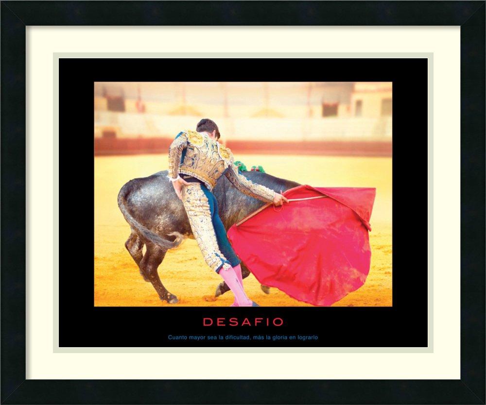 Framed Art Print 'Desafio'