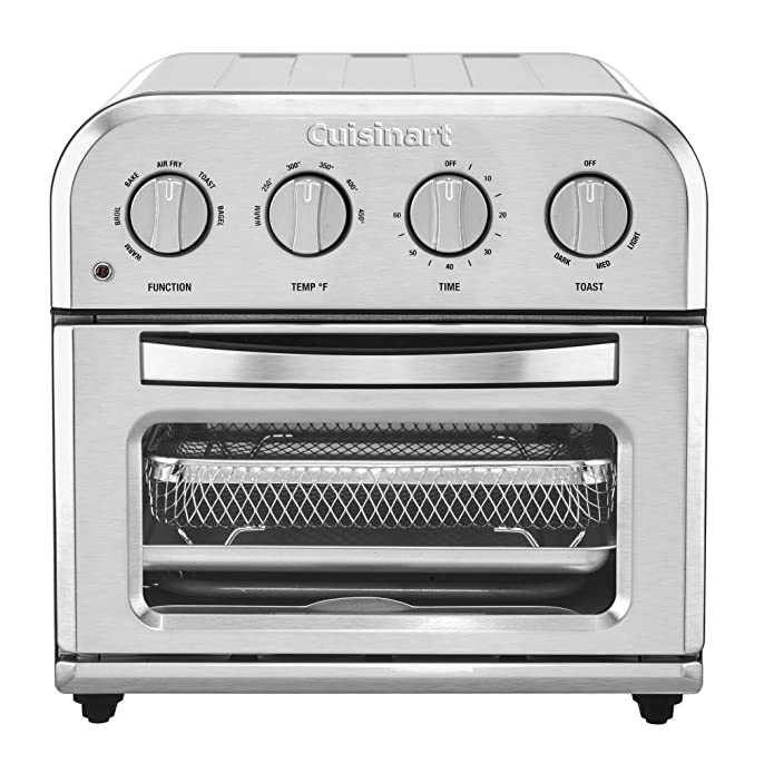 Cuisinart Compact AirFryer Toaster Oven - Stainless Steel - TOA-28