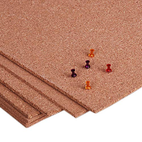 Manton Cork Sheet, 100% Natural, 4' x 8' x 1/4