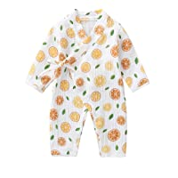 0-18 Meses,SO-buts Recién Nacido Bebé Niño Niñas Otoño Invierno Hilo De Dibujos Animados Túnica Kimono Mono Ropa De…