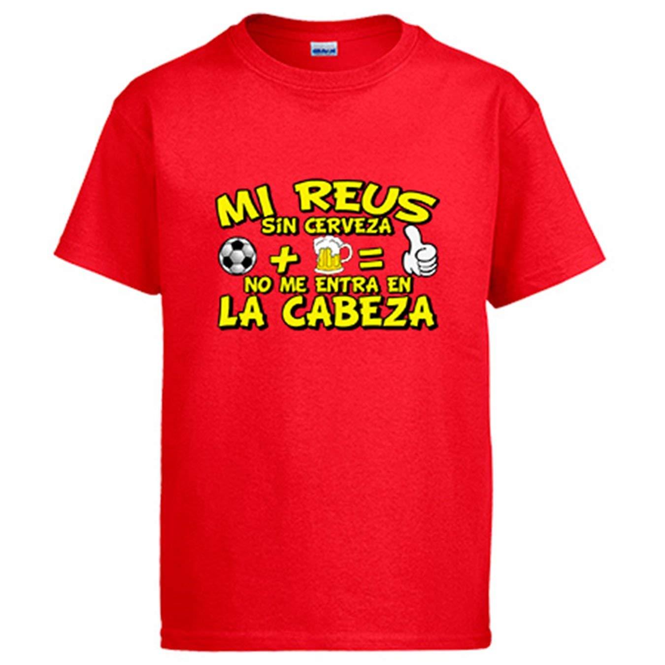 Camiseta Mi Reus sin Cerveza no me entra en la Cabeza ...