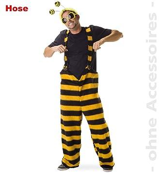 Fries Herren Kostum Biene Tragerhose Karneval Fasching Gr L Amazon