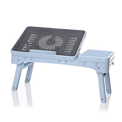 Escritorio plegable para computadora 14 -17 pulgadas Ventilador para computadora portátil Refrigerador de escritorio Escritorio