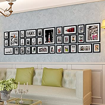 Korea Wall Sticker Large Size Photo Frames Living Room Pictures Modern  Minimalist Wall Hanging Picture Frames