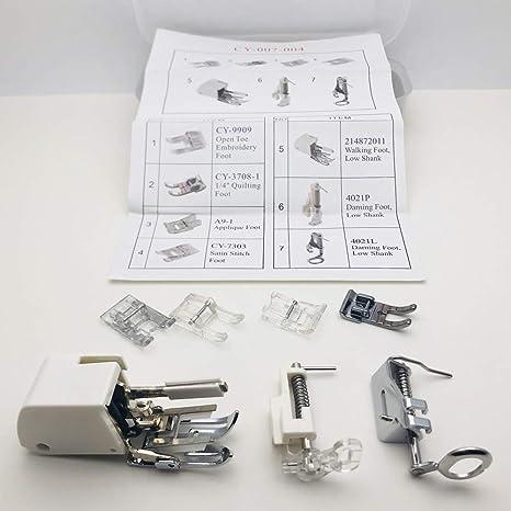 Austin® Premium Bordado Darning Acolchado prensatelas Kit de ...