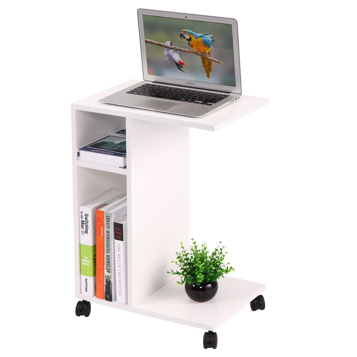 Coffee Tray Side Sofa Table Modern Couch Room Console Stand End TV Snack Mobile