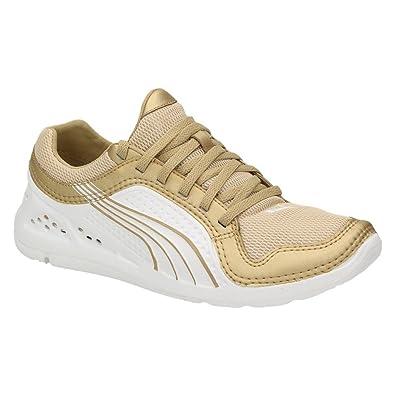 Puma L.I.F.T. Bolt Gold Racer Damen Schuhe Sneaker