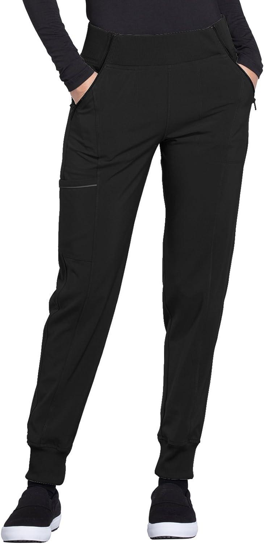 Cherokee Infinity Scrubs Women/'s Mid Rise Tapered Leg Jogger Pants
