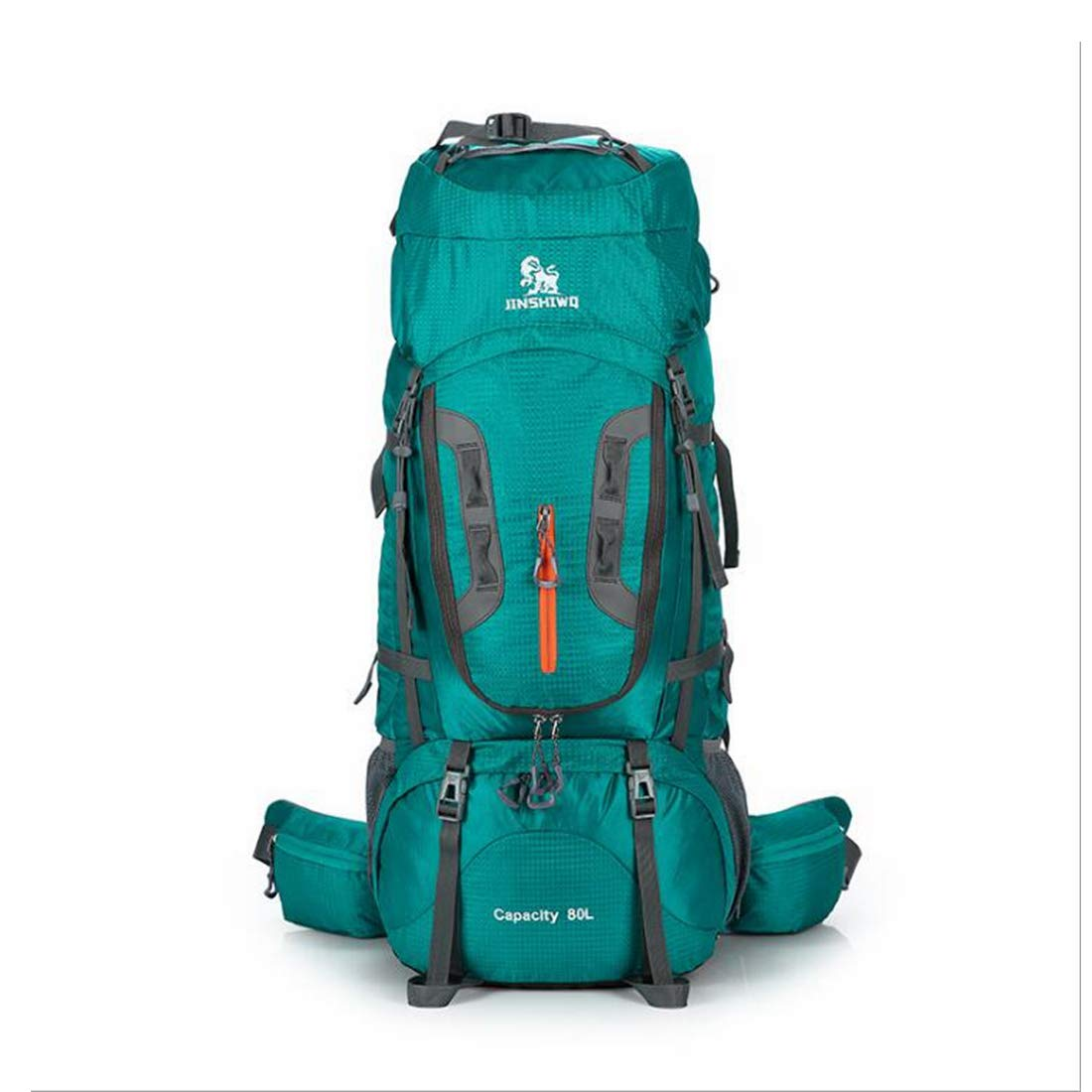 CTARCROW Hiking Backpack Travel Daypack Waterproof with Rain Cover for Climbing Camping Color : Lake Blue