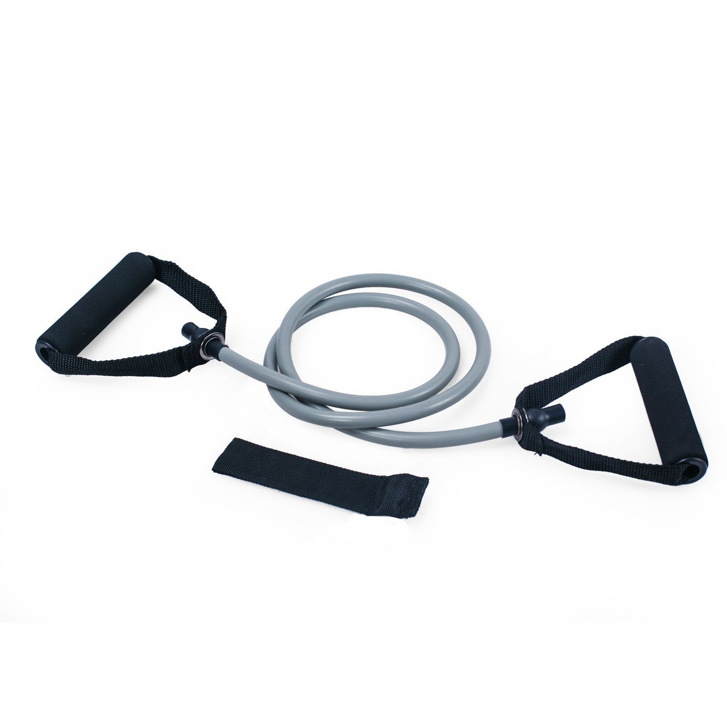 Adeco Single Resistance Band - Door Anchor and Starter Guide, gray by Adeco