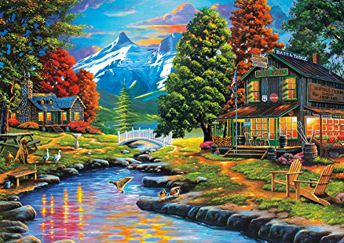 Buffalo Games 500 Piece Puzzle, Days to Remember - Dewie Hol