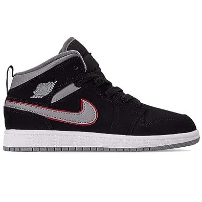 Nike Jordan 1 Mid (PS), Zapatillas de básquetbol para Niños ...