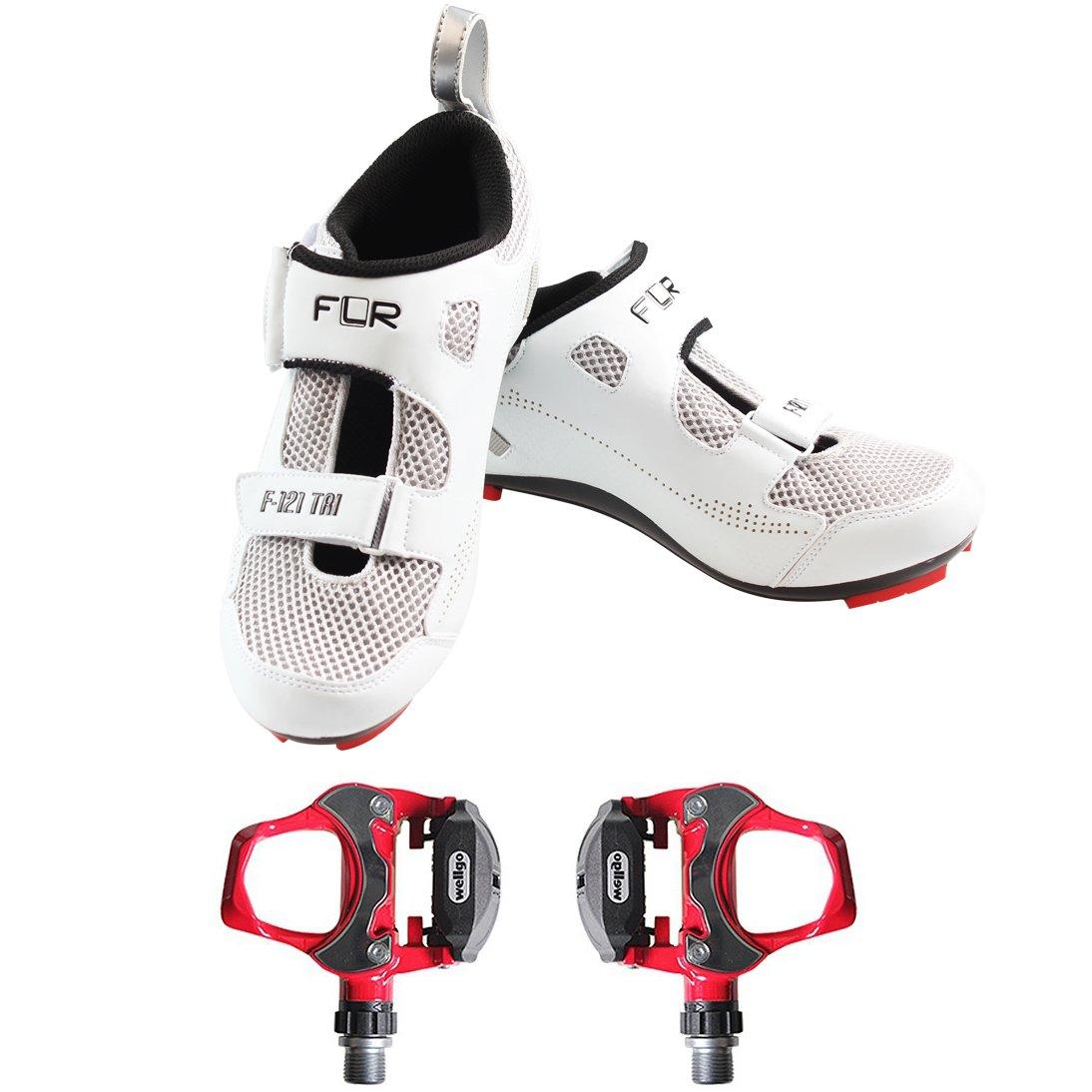 Ciclismo de Carretera Zapatos f-121 Ciclismo Zapatos y Pedales ...