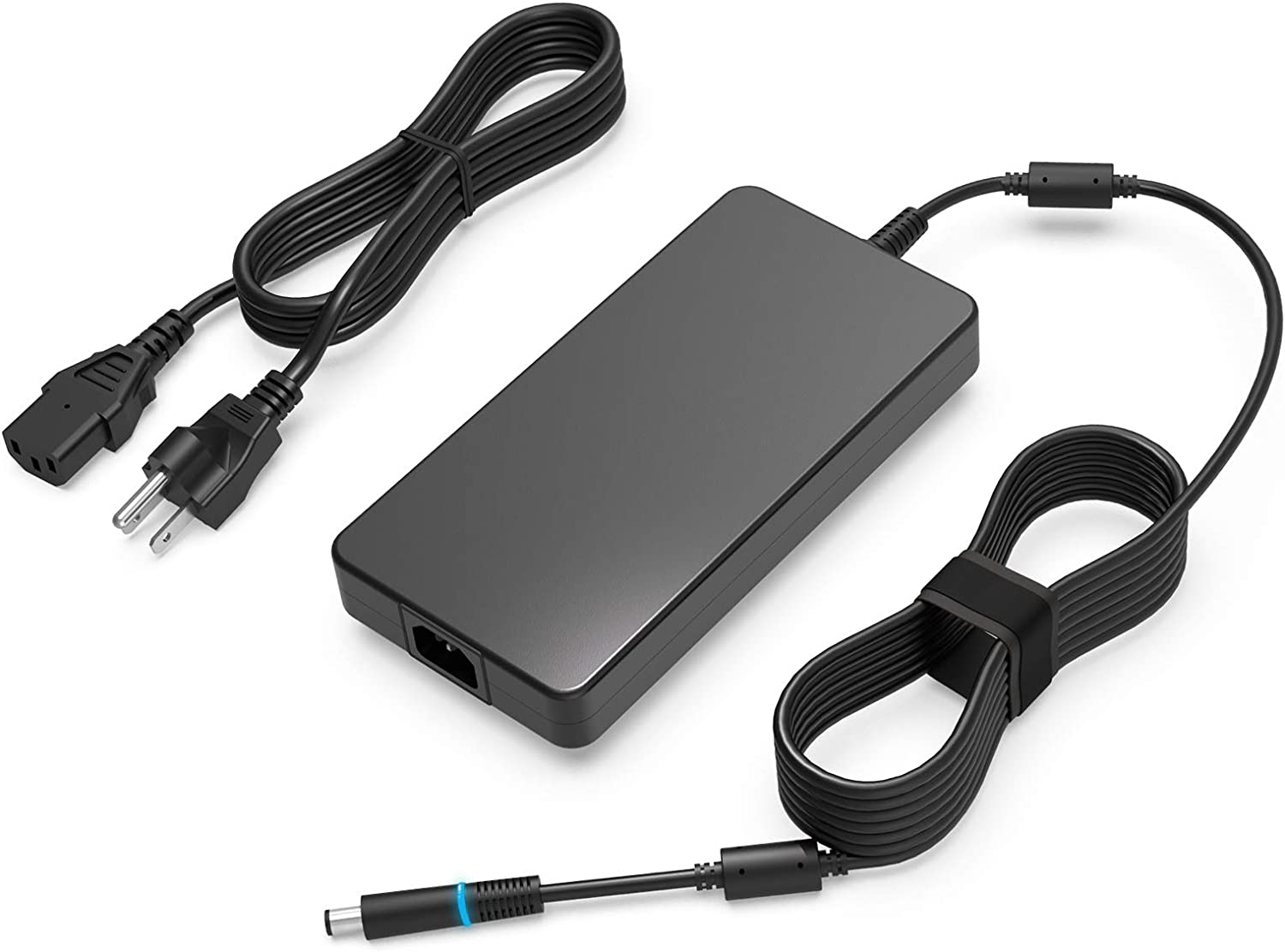 Alienware 240W 180W AC Adapter Laptop Charger Fit for Dell Alienware X51 M15 17 15 R3 R4 R5 R2 13 M17 M17X M18X GA240PE1-00 Precision M6800 M6500 M6600 M6700 M6400 J211H PA-9E Power Supply Cord