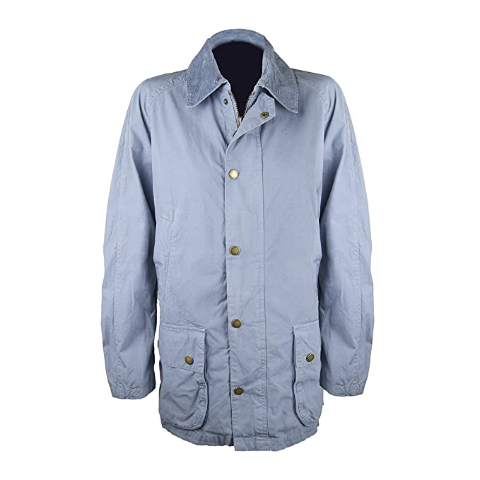 Barbour - Chaqueta para Hombre, Color Azul, Talla L: Amazon ...