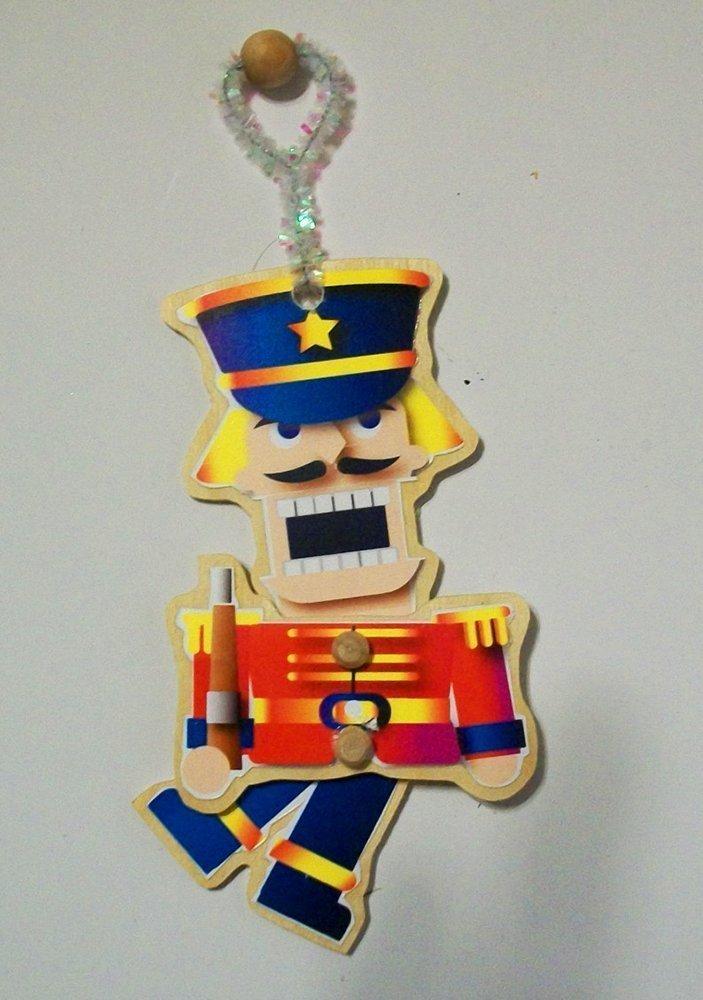 Christmas Ornaments-Four Nutcracker Characters
