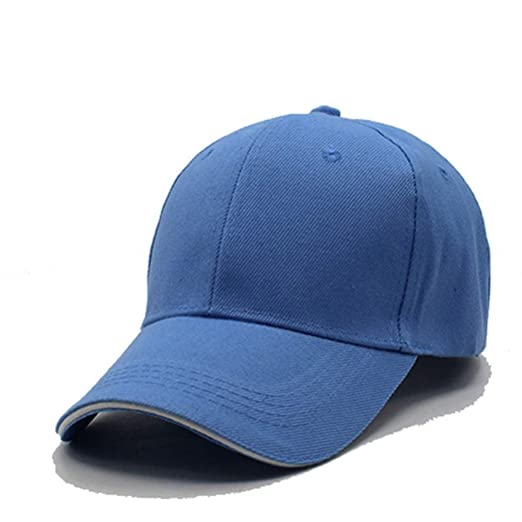 Baseball Cap Hat for Women Men Cotton Twill Summer Solid Color Sports Sun Hat Black Red at Amazon Mens Clothing store: