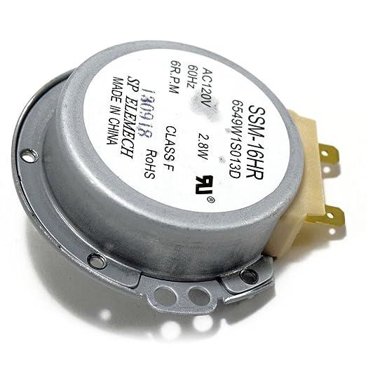 Lg 6549W1S013D - Motor de tocadiscos para microondas: Amazon ...