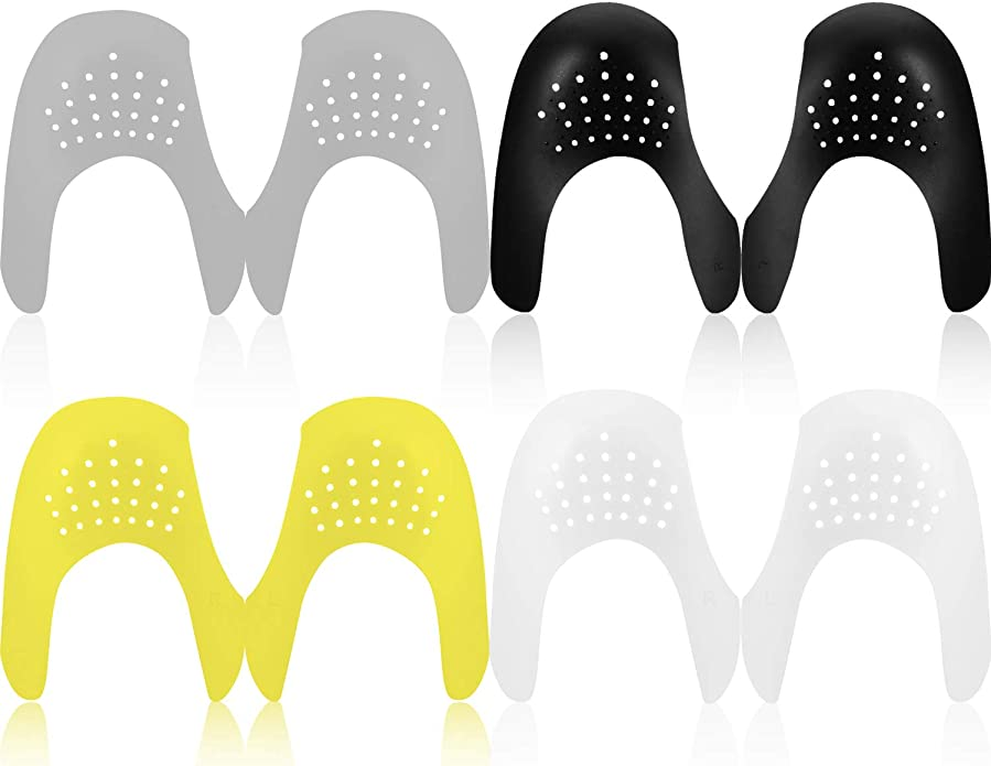 4 Pares de Escudos de Zapatos Protector para Dedos de Pies ...