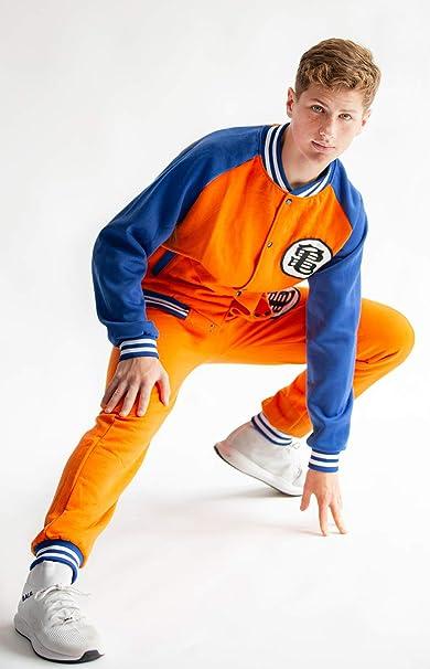 CoolChange Chandal de Dragonball de Son Goku en Estilo Baseball ...