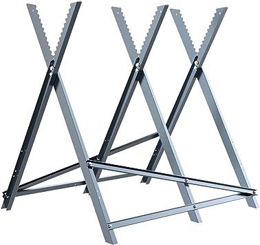 Multifonction Work Horse pliant Chevalet Scie Hauteur Réglable Stand 150 kg
