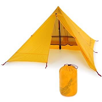 Lixada Ultralight 2 Person Tent Portable Backpacking Tent Double-Side Silicone Coating Water-resistant  sc 1 st  Amazon.com & Amazon.com : Lixada Ultralight 2 Person Tent Portable Backpacking ...