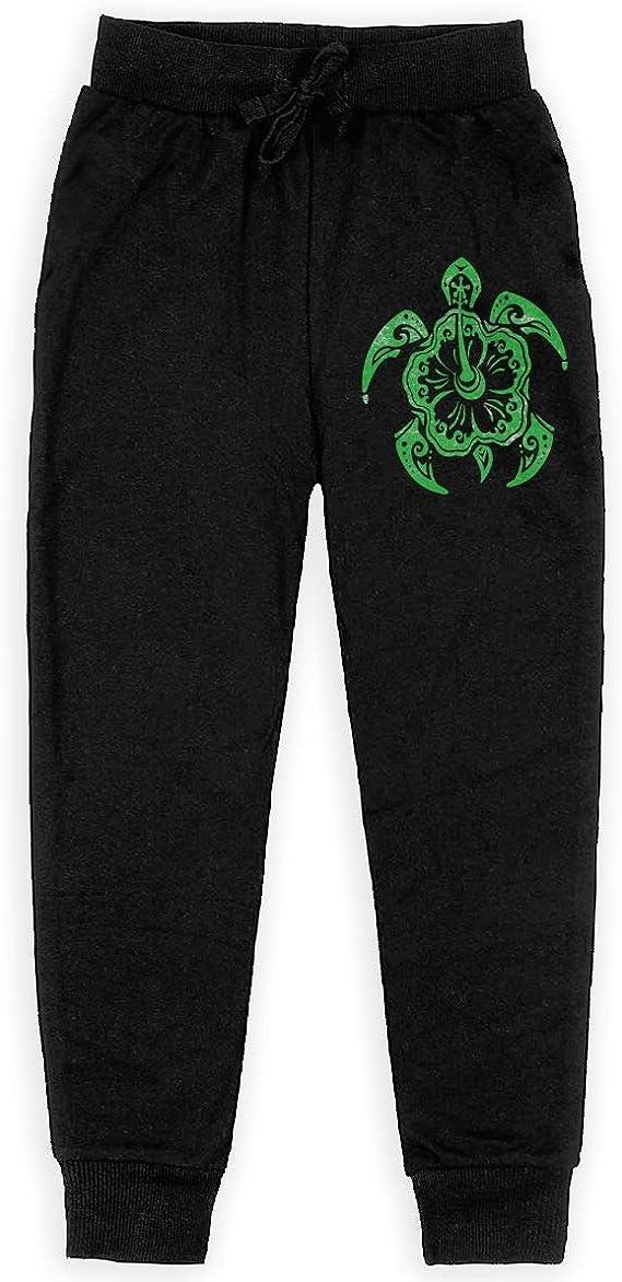 Sea Turtle Long Sweatpants Juniors Boys Girls Casual Pants with Drawstring