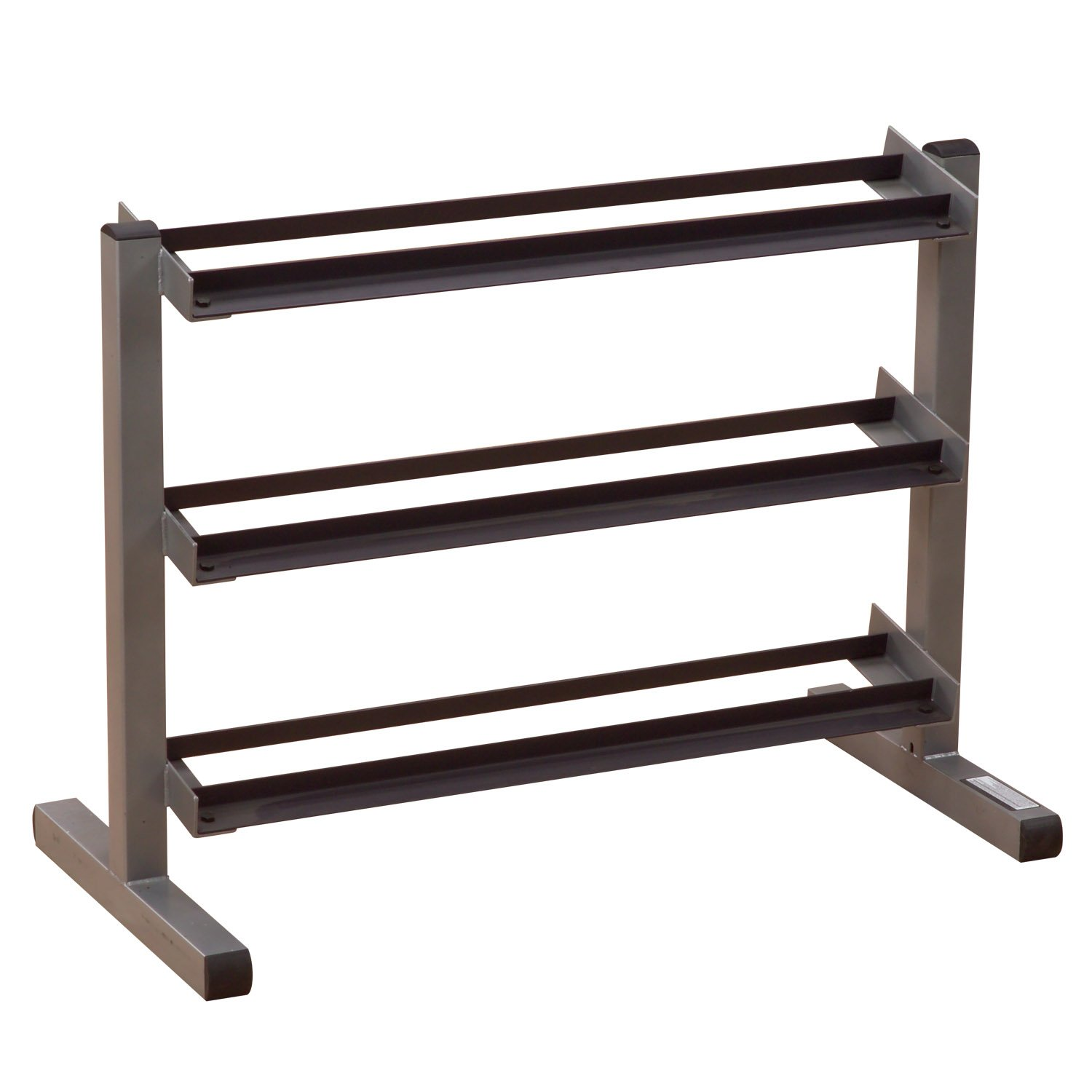 Body-Solid Three-Tier Horizontal Dumbbell Rack (GDR363) by Body-Solid