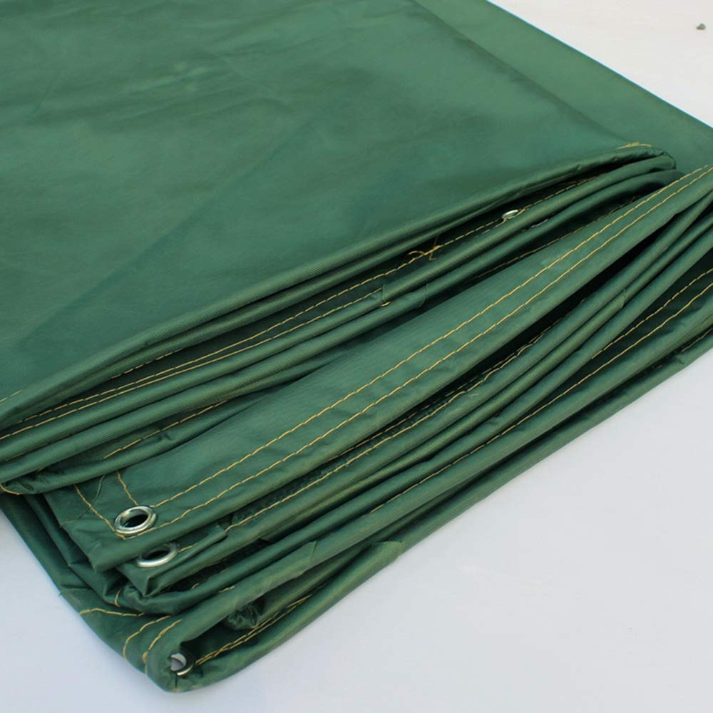 Zhihui Zeltplanen Zeltplanen Zeltplanen ZZHF pengbu Tarps, leichte Outdoor-Plane 5m X 7m Mehrzweck wasserdicht verstärkt Ripstop mit Knopfloch grün (größe   3m4m) 313fc5
