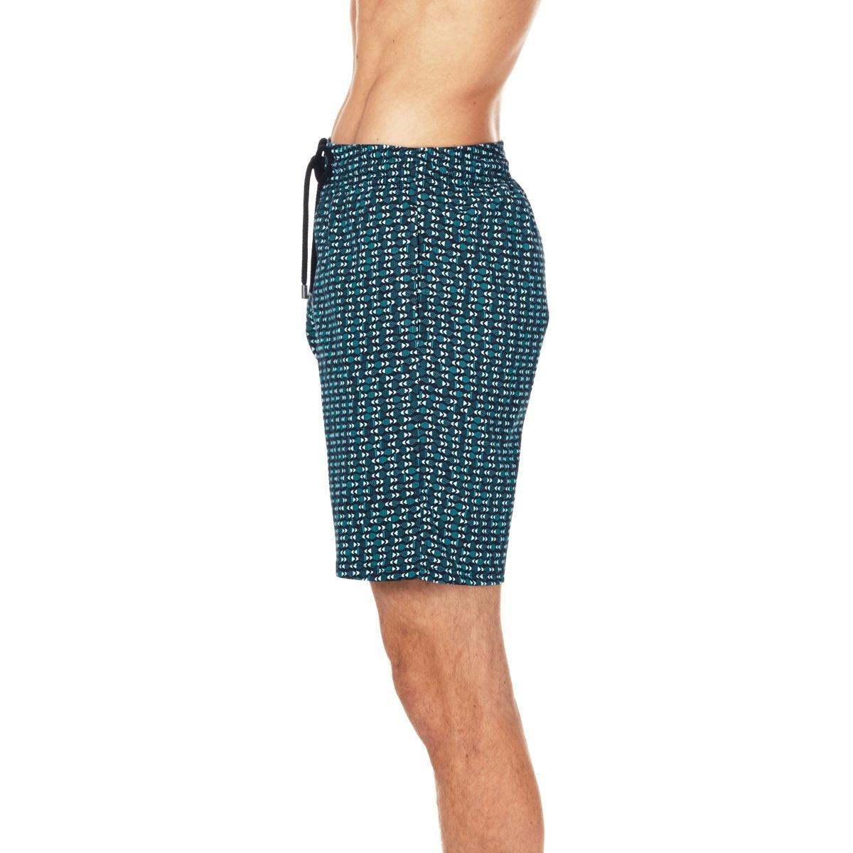 Men Stretch Swimwear Modernist Fish Vilebrequin