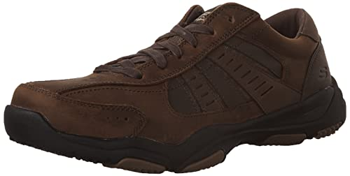 Skechers Men's Larson-Nerick Low-Top Sneakers, Brown (CDB), 6