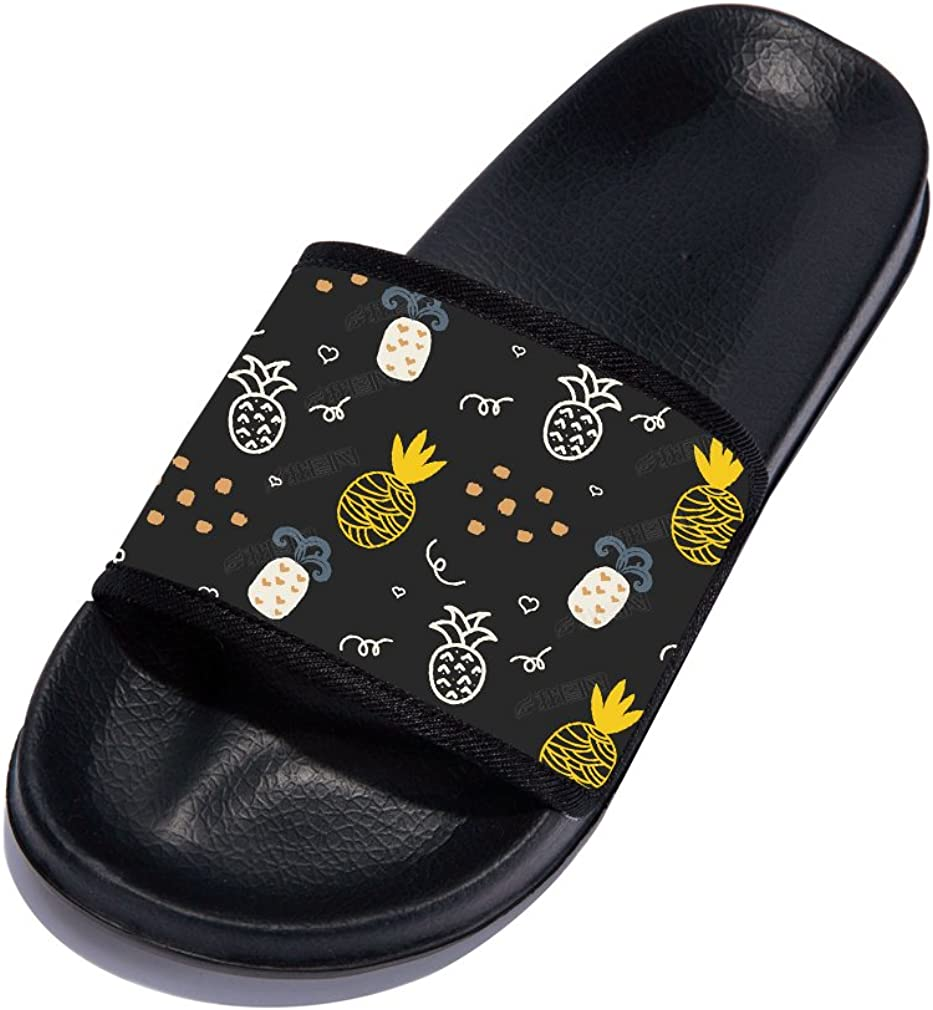 Unisex Skid-Proof Home Slippers Soft Sole Beach Sandal for Boys Girls
