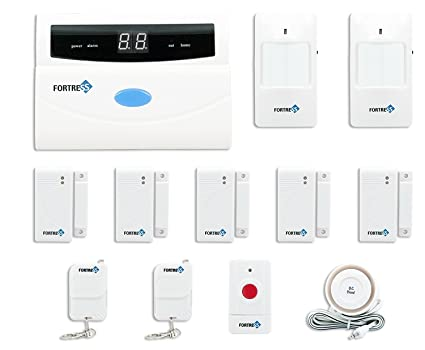 Amazon fortress security store tm s02 a wireless home and fortress security store tm s02 a wireless home and business security alarm system solutioingenieria Images