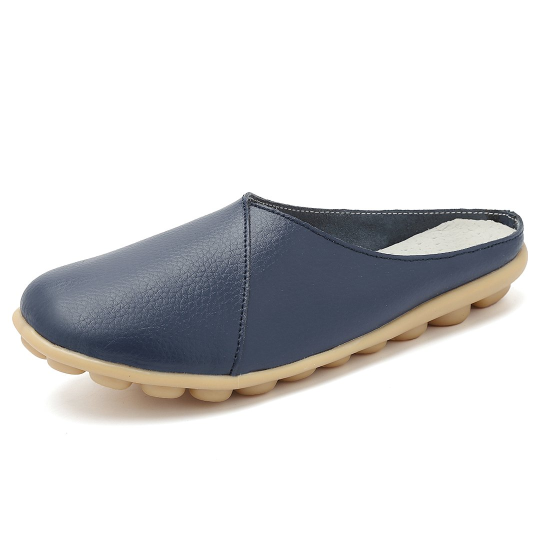 KEESKY Womens Mules Blue Size 8