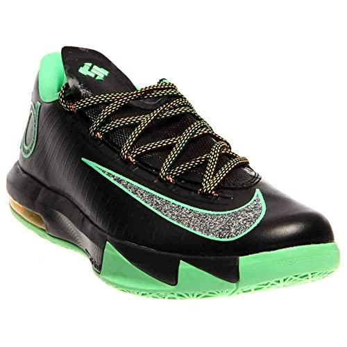 bc4be6d8bc77 Nike KD VI (Night Vision-Brazil) Black Lucid Green-Atomic Mango