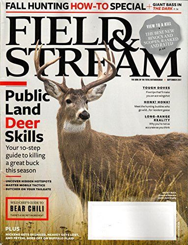 Field & Stream Magazine September 2017 | Public Land Deer Skills