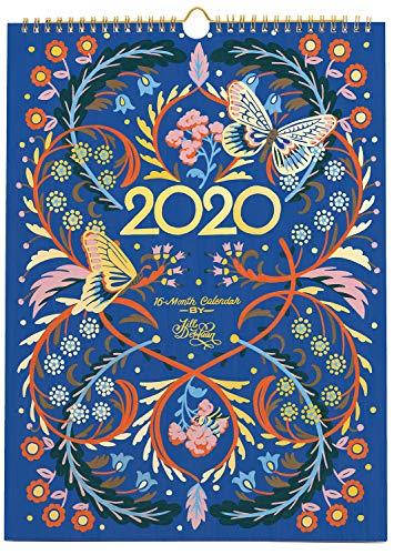 High Note Designer 2020 Wall Calendar 16-Month: August 2019 - December 2020 - Floral Typography by Jill De Haan 11